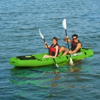 X.P.L.R. - Fishing Kayak - double + T-18 motor